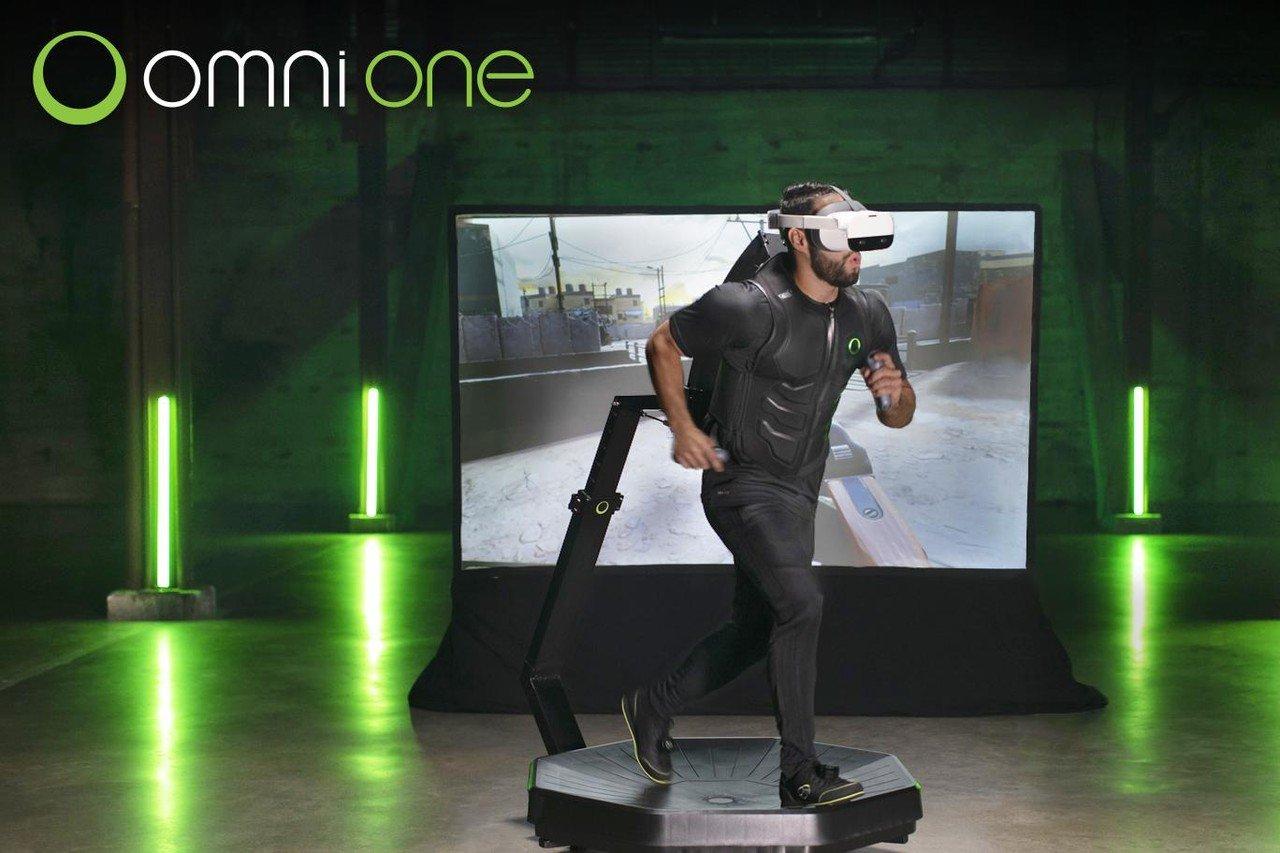 Virtuix Omni One: Die Zukunft des VR-Gamings
